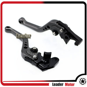CNC Short Brake Clutch Levers LOGO GSR - Bike-Moto