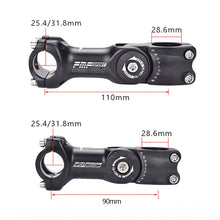 Load image into Gallery viewer, Adjustable Bicycle Stem Riser 25.4mm/31.8mm Road Mountain Bike Stem - Bike-Moto