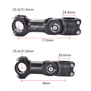 Adjustable Bicycle Stem Riser 25.4mm/31.8mm Road Mountain Bike Stem - Bike-Moto