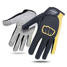 Load image into Gallery viewer, NEWBOLER Cycling Gloves Men Sports Full Finger Anti Slip Gel
