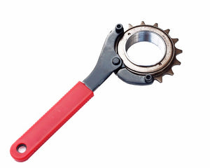 WEST BIKING Adjustable Cycling Carbon Steel Bike Wrench Chainwheel