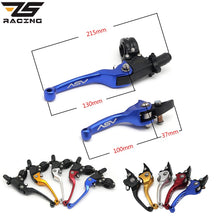 Load image into Gallery viewer, ZS Racing 22mm Alloy ASV F3 Series 2ND Clutch Brake Folding Lever