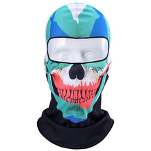 Load image into Gallery viewer, 3D Orcs Skull Motorcycle Balaclava Full Face Mask - Bike-Moto