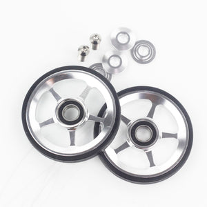 Aceoffix Easy Wheels Easywheel & Titanium Bolts For Brompton - Bike-Moto