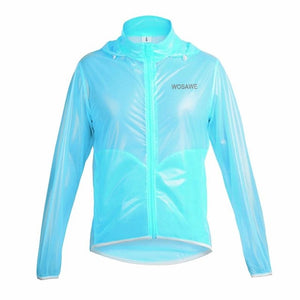 WOSAWE Waterproof Windproof Rain Cycling Jersey