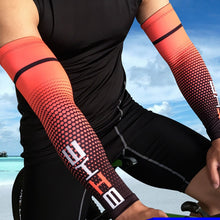 Load image into Gallery viewer, Professional cycling cuffs summer sunscreen ice arm