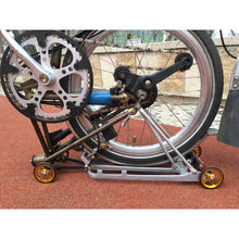 Load image into Gallery viewer, Aceoffix Easy Wheels Easywheel & Titanium Bolts For Brompton - Bike-Moto