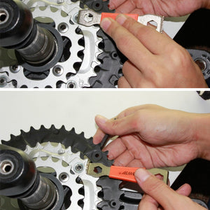 MTB Road Bike Bicycle Sprocket Nut Chain Wrench Crankcase