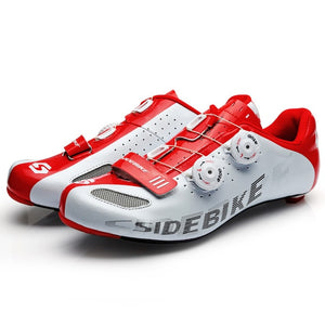 Sidebike carbon road cycling shoes men