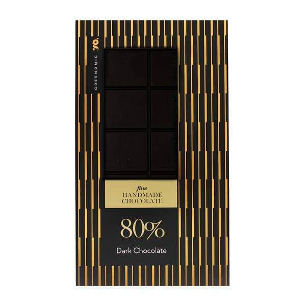 Chocolate | Dark Chocolate 80% 100g - INSELLIEBE Store - Insel Usedom