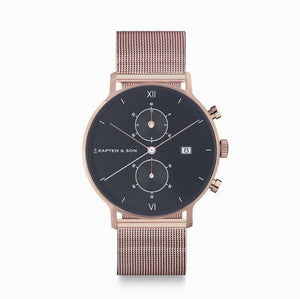 "Chrono Rosé ""Black Mesh"" - INSELLIEBE Store - Insel Usedom"