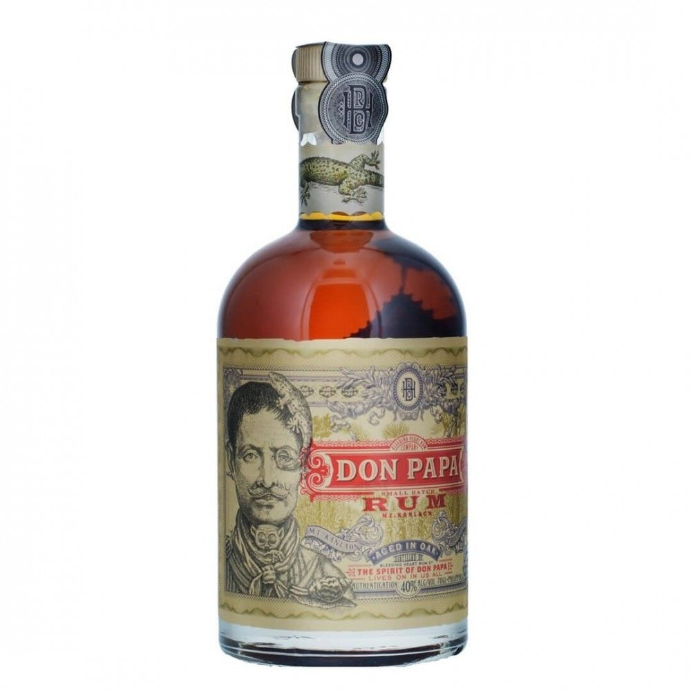 Don Papa Rum 7 Years Old 40% Vol. 0,7 l - INSELLIEBE Store - Insel Usedom