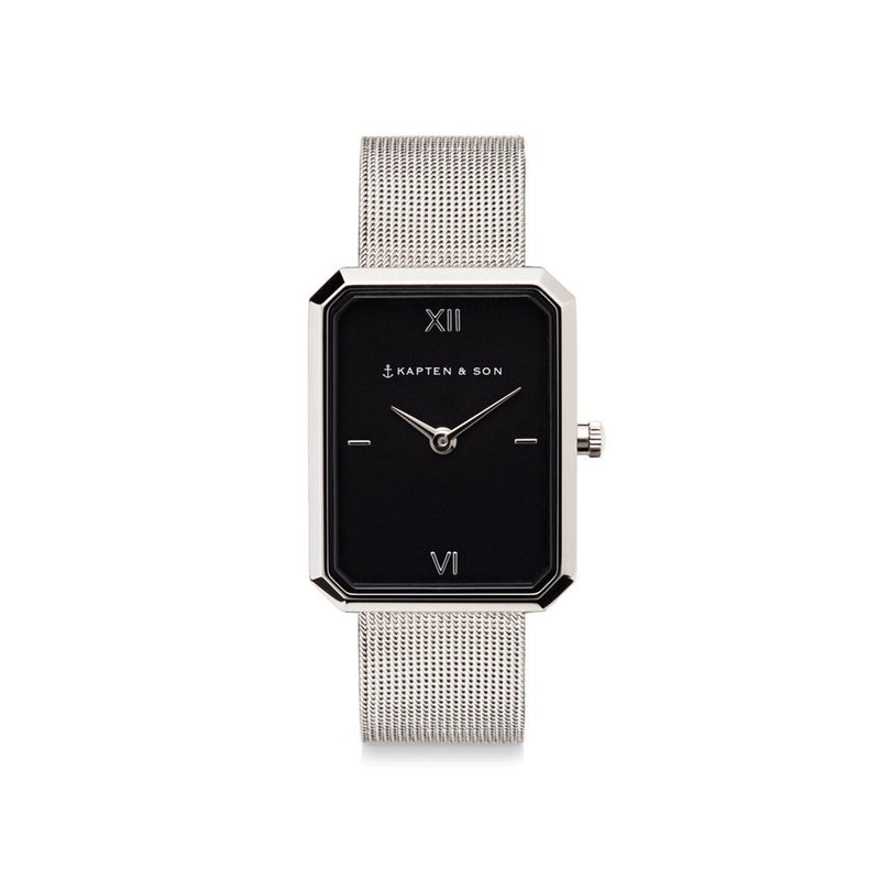 "Grace Silver ""Black Mesh"" - INSELLIEBE Store - Insel Usedom"