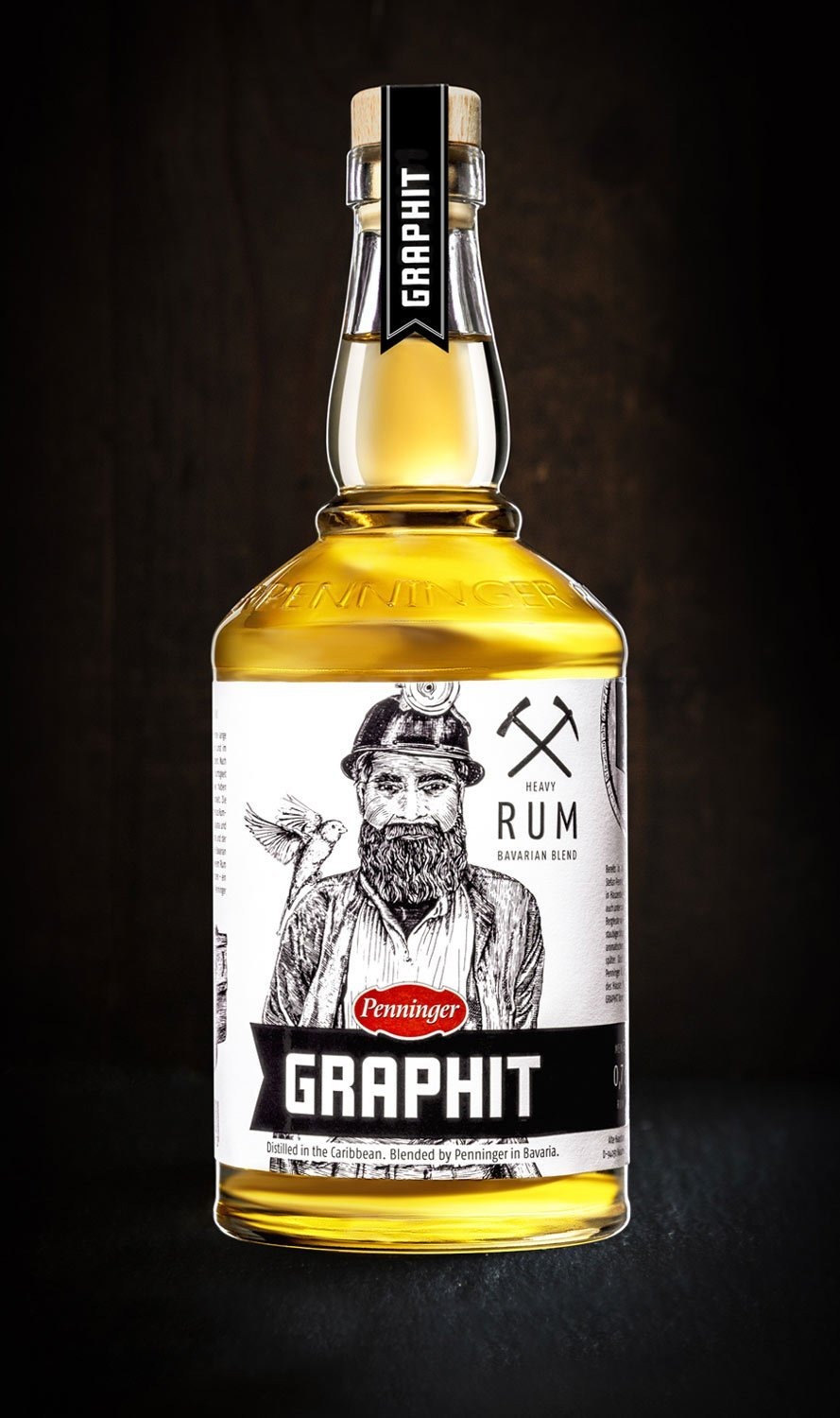 GRAPHIT - Bavarian Blend Heavy Rum 0.7l - INSELLIEBE Store - Insel Usedom
