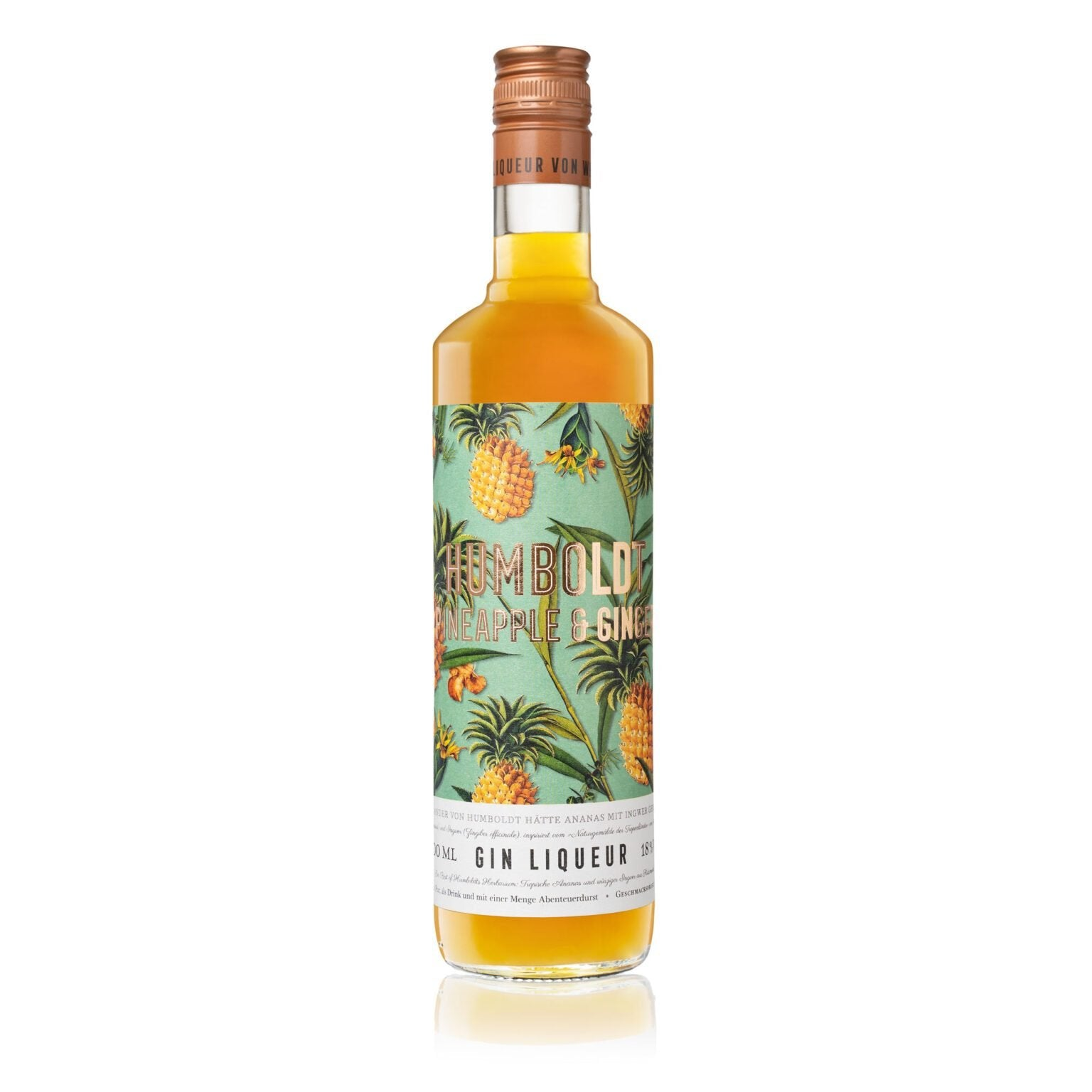 HUMBOLDT Pineapple & Ginger Liqueur -18%  700ml