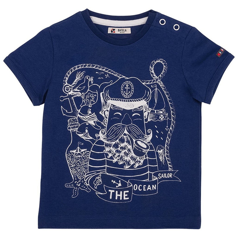 "Kinder Shirt ""The Ocean Sailor"" - INSELLIEBE Store - Insel Usedom"