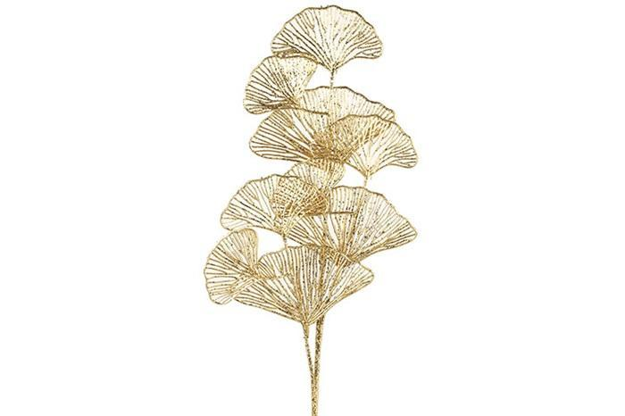 "Kunstpflanze ""Ginkgo"" - Gold 78,5cm - INSELLIEBE Store - Insel Usedom"