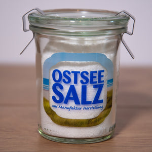 Ostseesalz im Weck Glas, 100g - INSELLIEBE Store - Insel Usedom