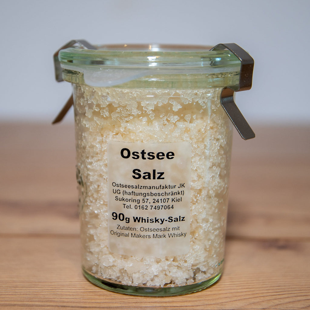 Ostseesalz mit Makers Mark Whisky, 90g - INSELLIEBE Store - Insel Usedom