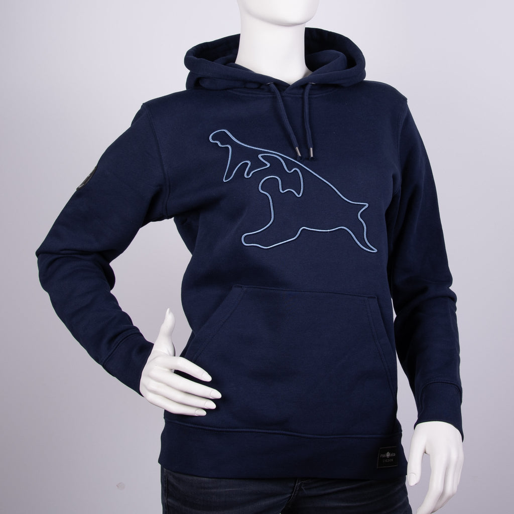 "Premium Hoodie ""Insel DNA"" - Marine 
