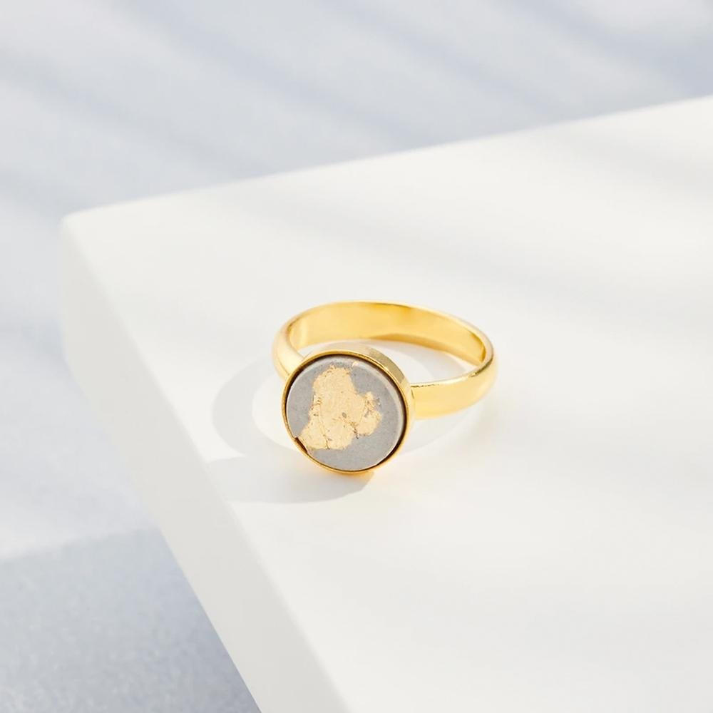 Ring LULU | Grey Gold - INSELLIEBE Store - Insel Usedom