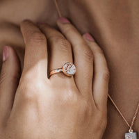 Ring LULU | Grey Rosé - INSELLIEBE Store - Insel Usedom