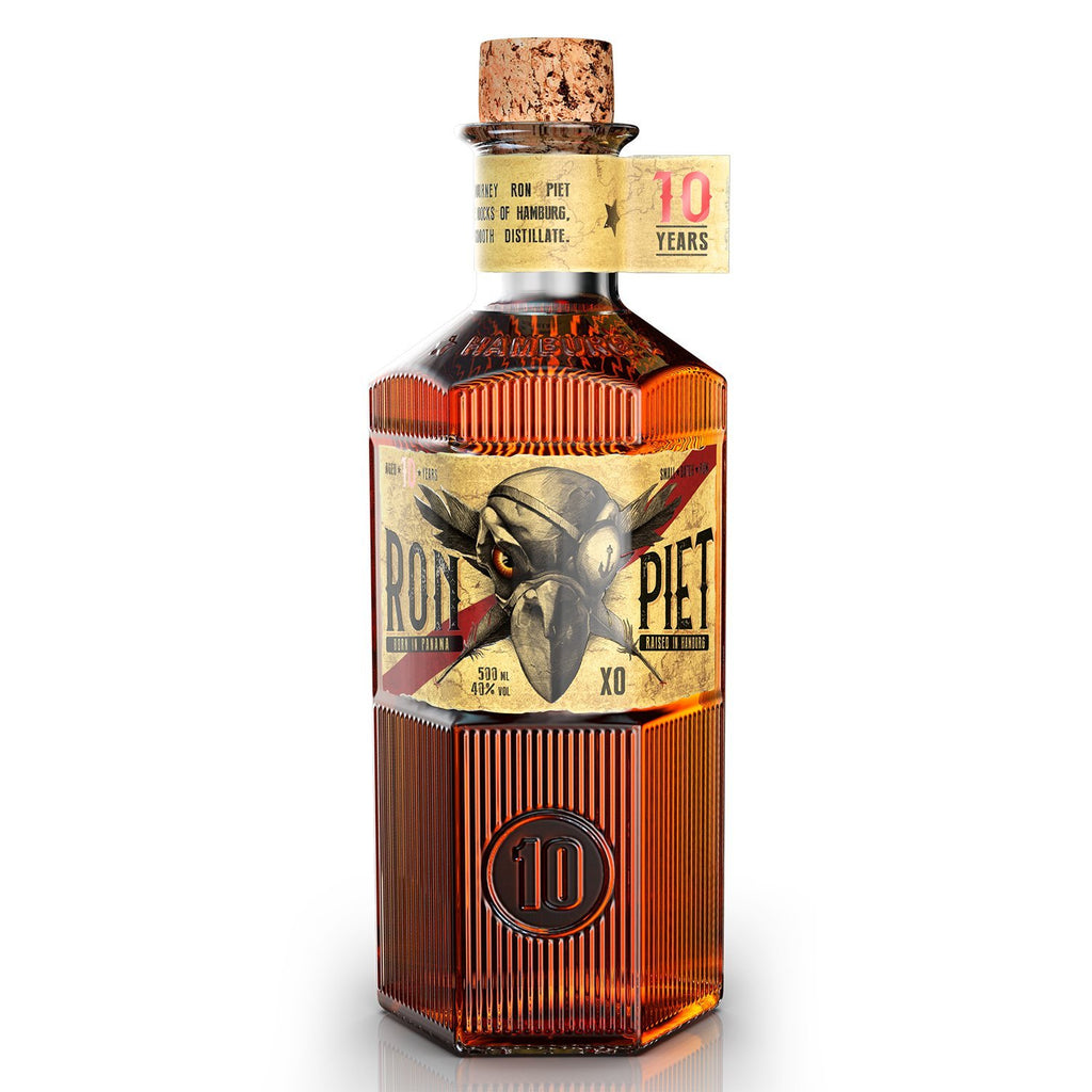 Ron Piet Rum 0,5l (40% Vol.) - INSELLIEBE Store - Insel Usedom