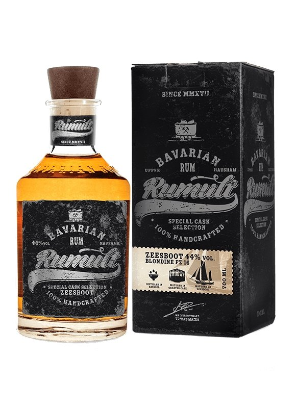 RUMULT Special Cask Selection Zeesbot 44%vol. 0,7ltr. - INSELLIEBE Store - Insel Usedom