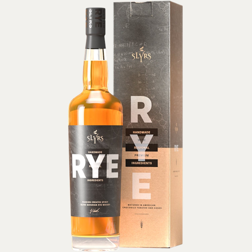 SLYRS Bavarian RYE Whisky 41% Vol. 0,7l - INSELLIEBE Store - Insel Usedom