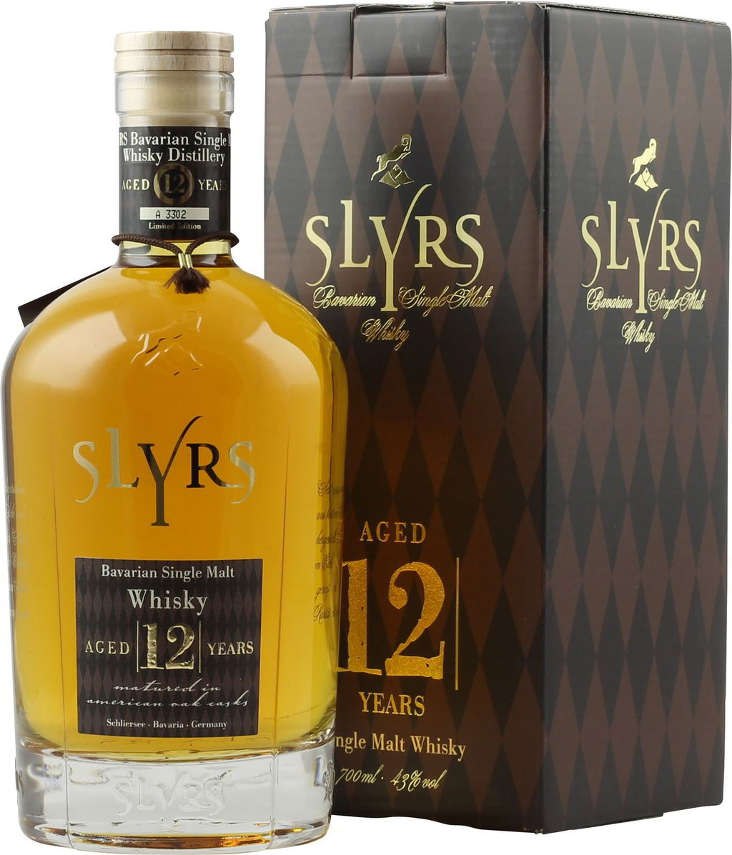 SLYRS Malt Whisky 12 Years 43% 0,7l - INSELLIEBE Store - Insel Usedom