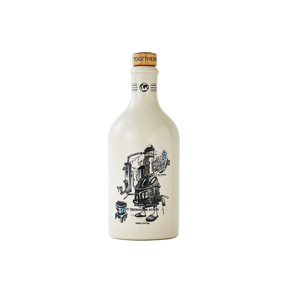 TOGETHERNESS EDITION | KNUT HANSEN DRY GIN 0,5L - INSELLIEBE Store - Insel Usedom