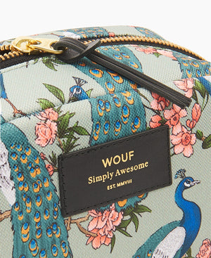 "WOUF ""Royal Forest"" Big Beauty Bag - INSELLIEBE Store - Insel Usedom"