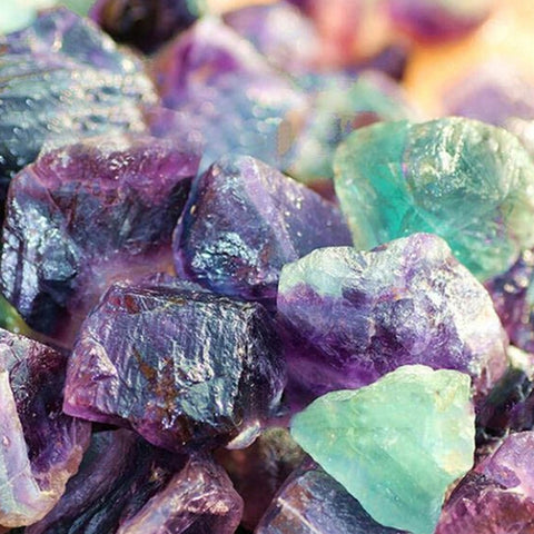 Natural Fluorite Crystal Quartz