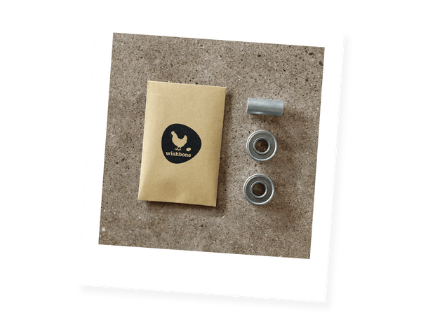 Bearing Parts Bag for Germans with failed ABEC bearings