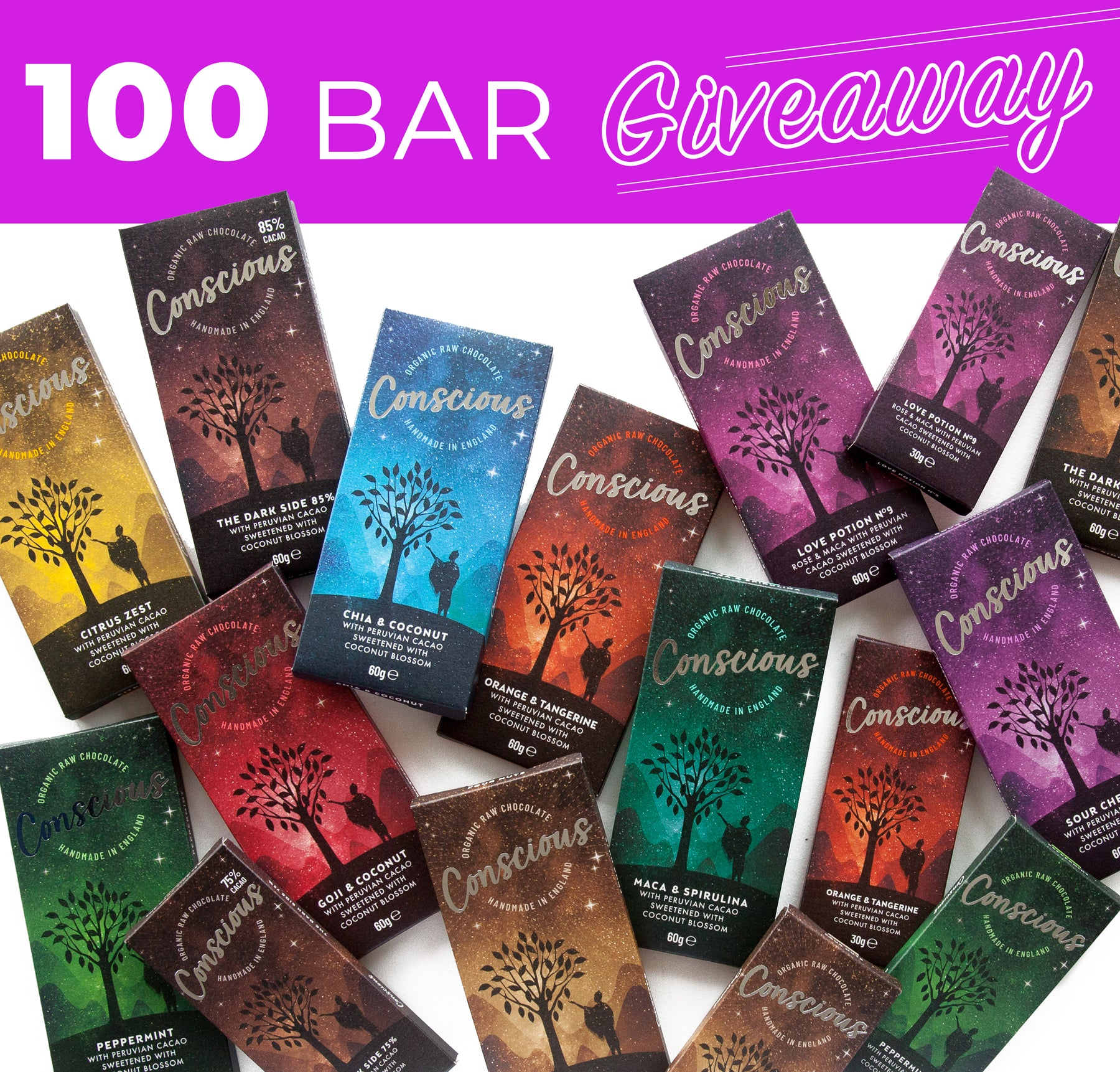 100 Bar Giveaway Update