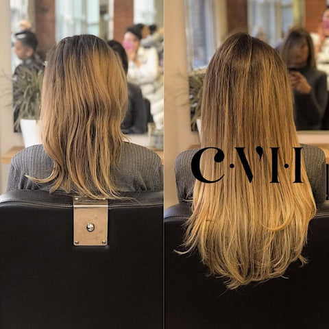 Micro rings before and after
