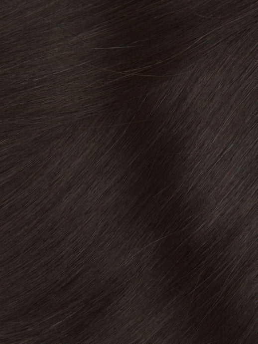 Clip-In Hair Extensions Italian Espresso | Superior 180 Grams