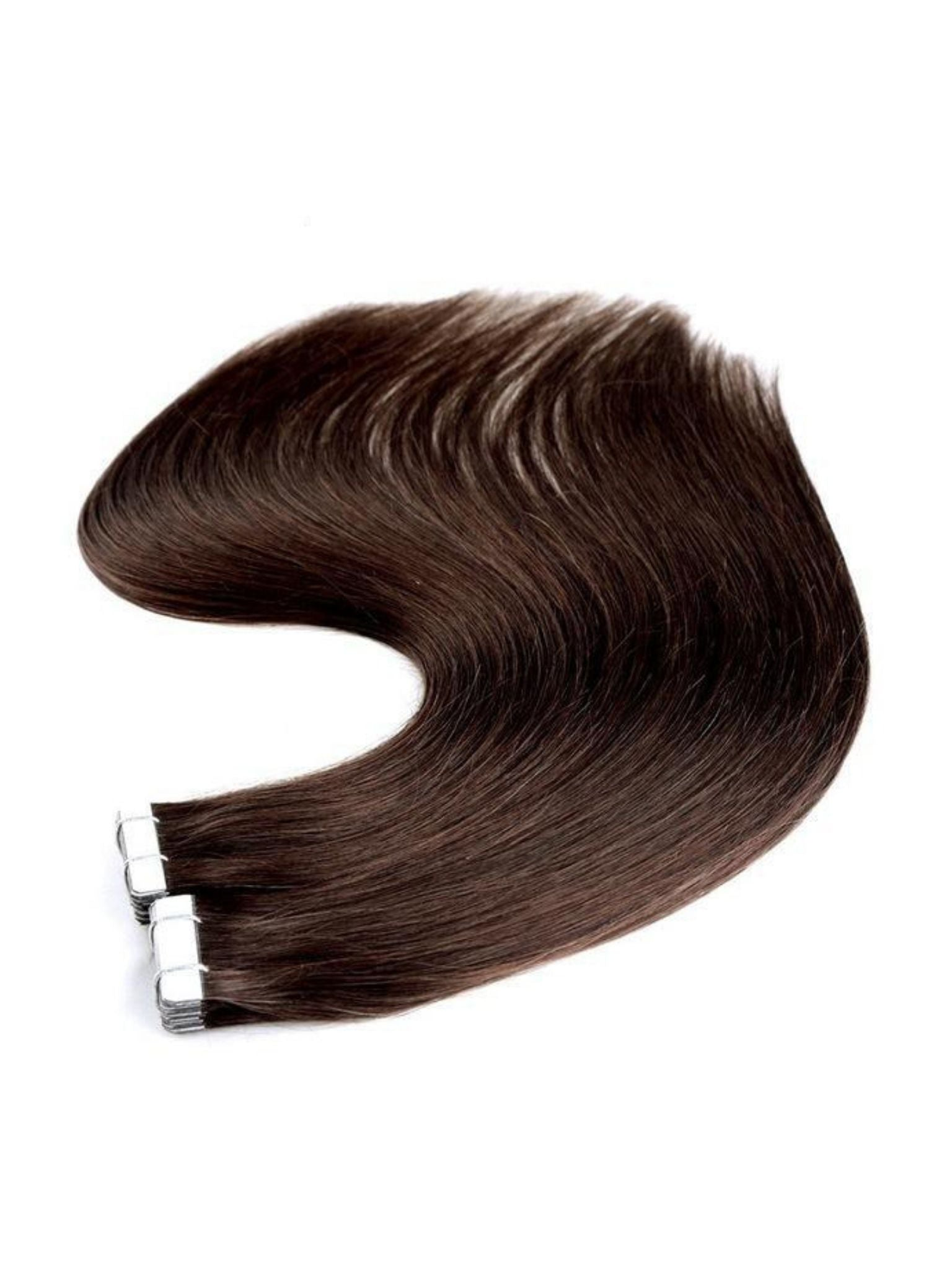 Seamless Tape-In Hair Extensions - Truffle Brown #4