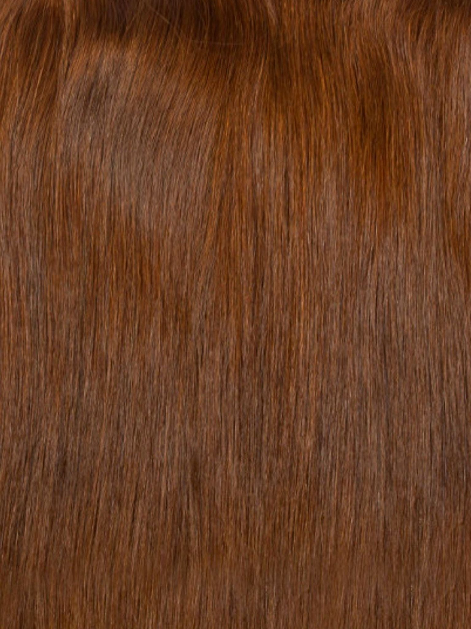 Clip-In Hair Extensions Chestnut Brown | Superior 180 Grams