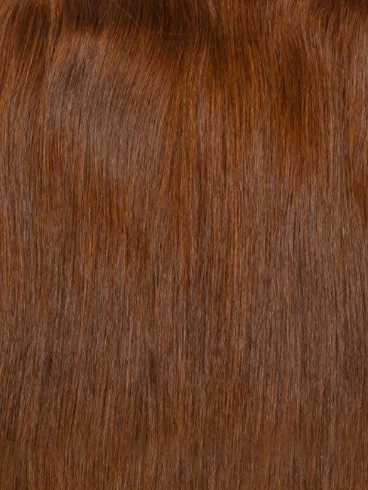 Stick Tip Hair Extensions - Chestnut Brown #6