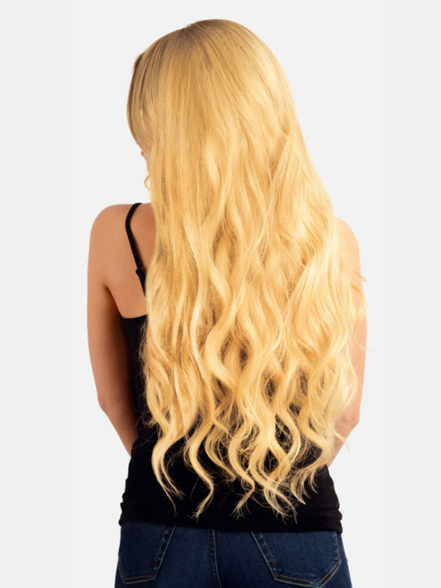 Stick Tip Hair Extensions - Bleach Blonde #613