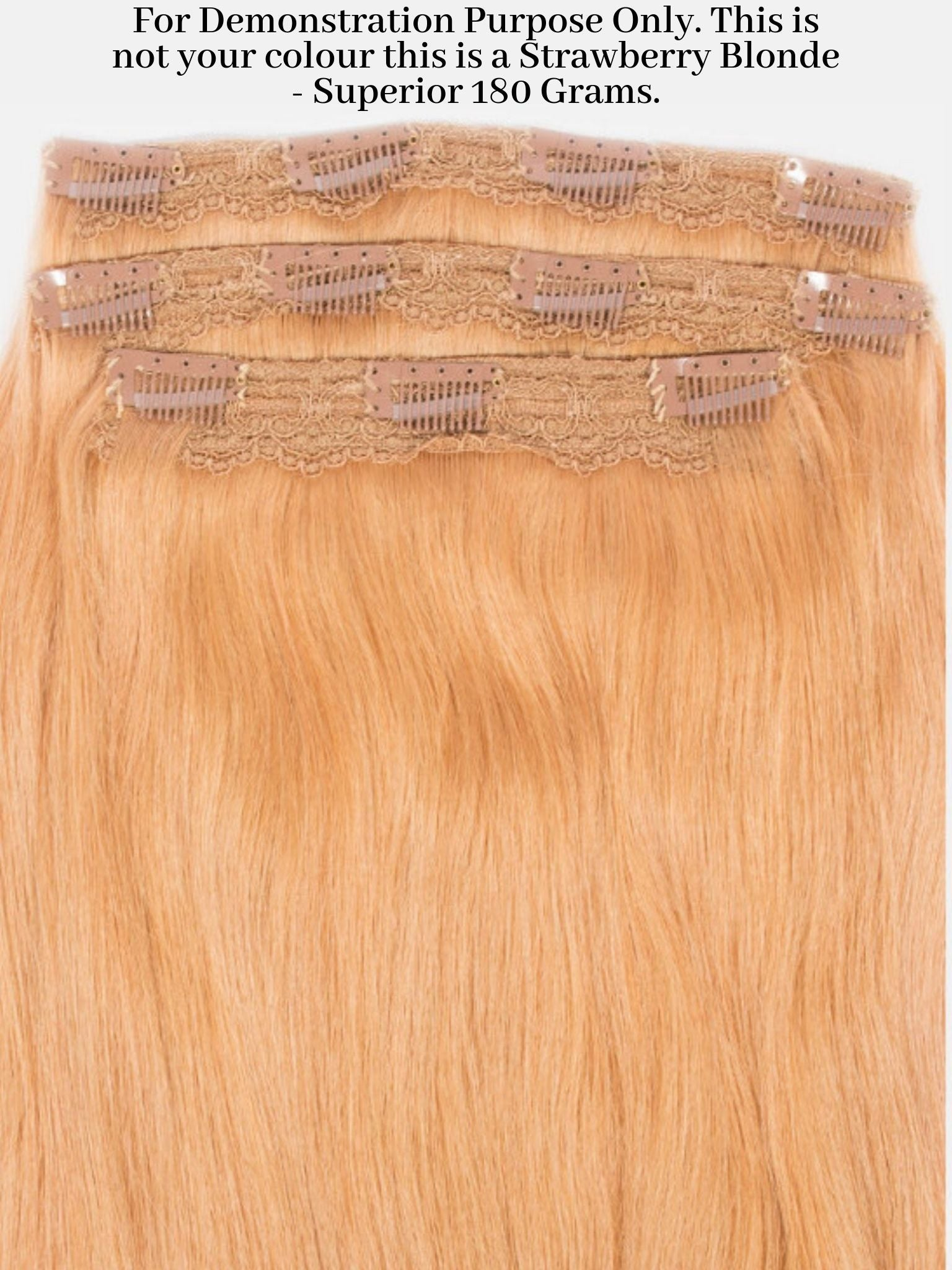 Clip-In Hair Extensions Turkish Coffee | Superior 180 Grams