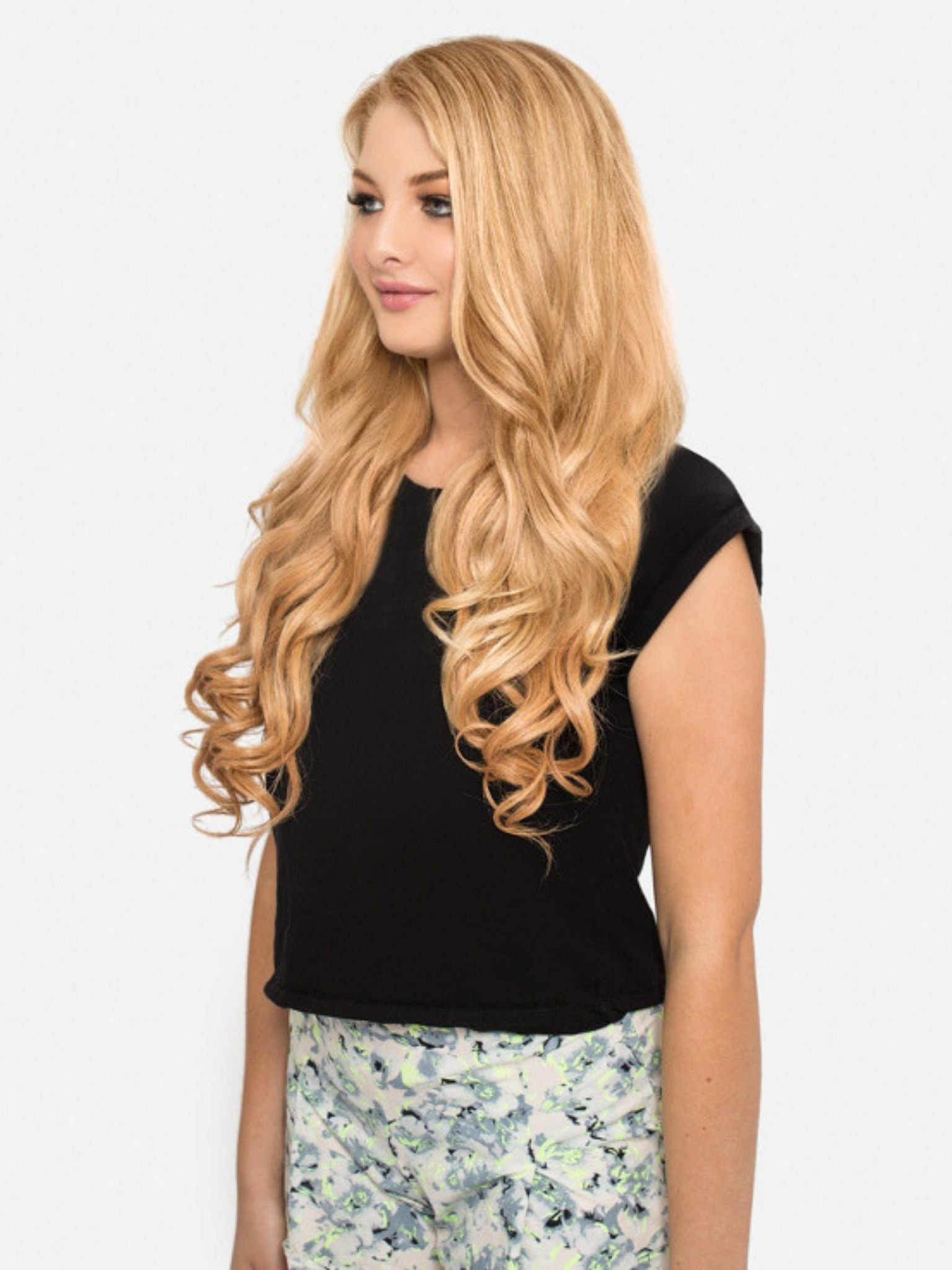 Stick Tip Hair Extensions - Strawberry Blonde #16
