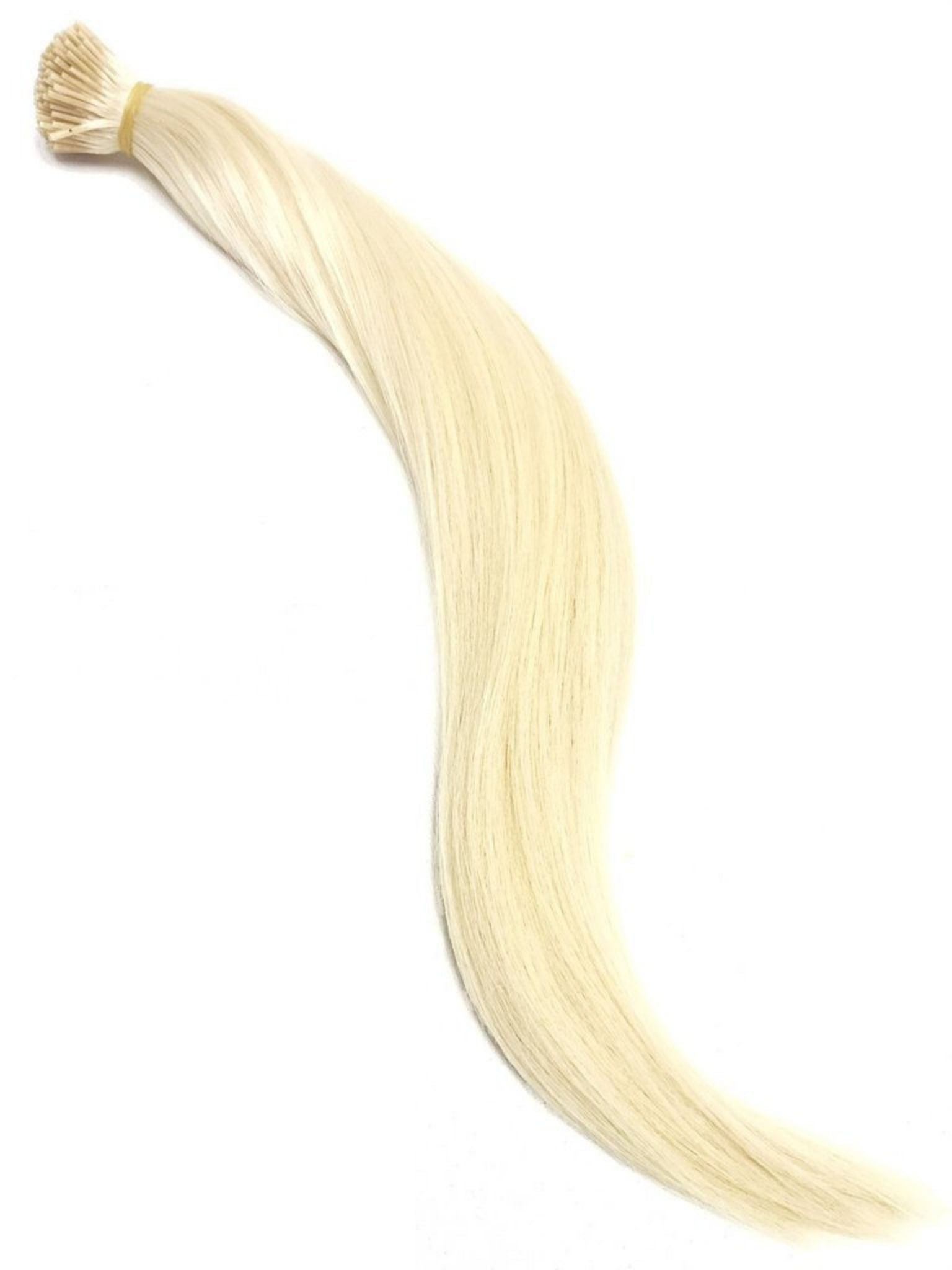 Stick Tip Hair Extensions - Platinum Blonde #60