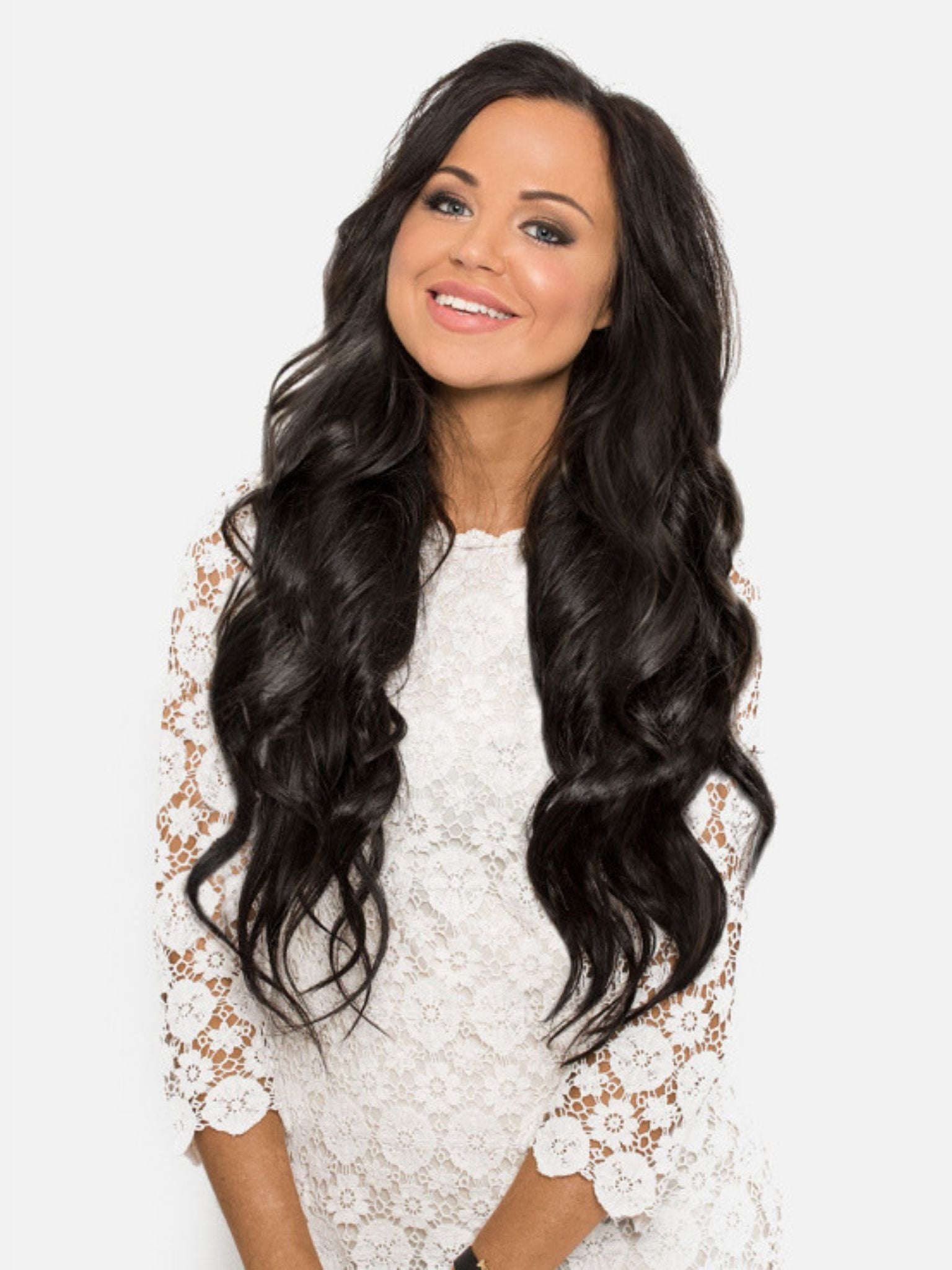 Seamless Tape-In Hair Extensions - Natural Black #1B