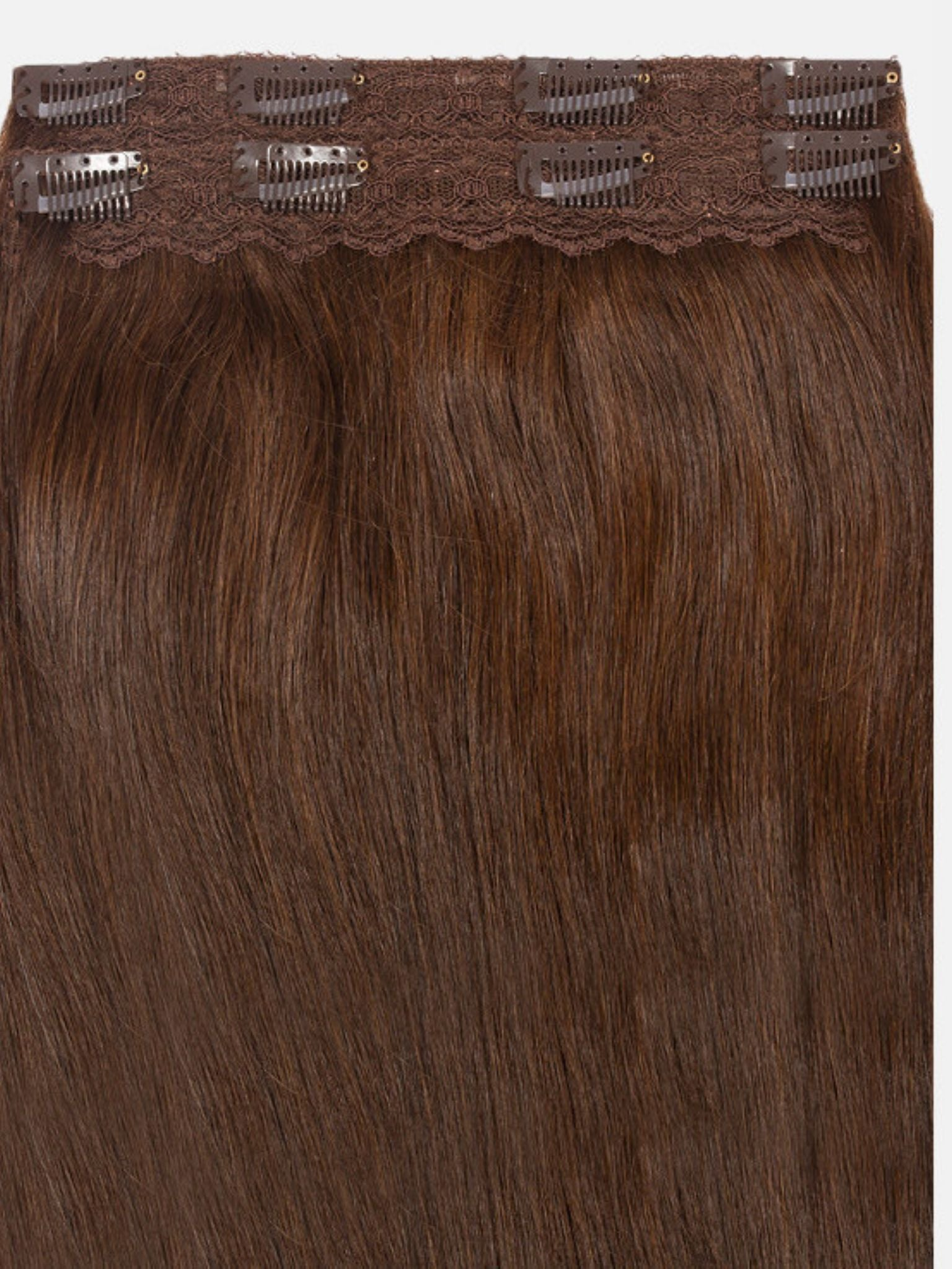 Clip-In Hair Extensions Truffle Brown | Superior 180 Grams