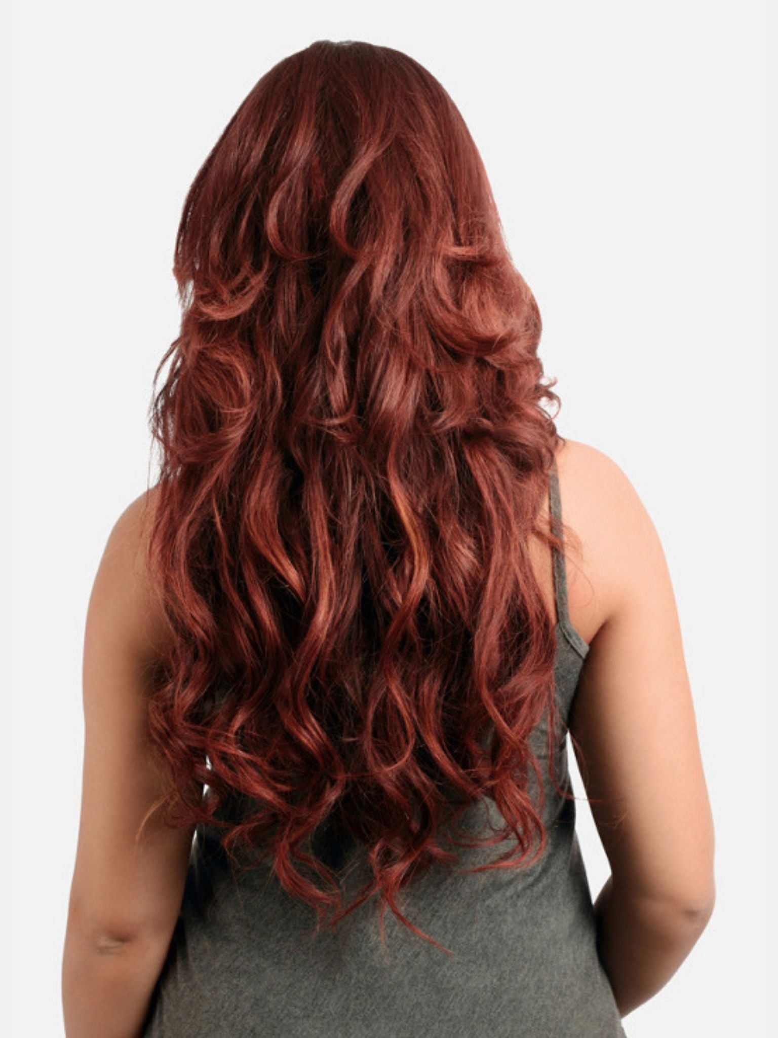 Seamless Tape-In Hair Extensions - Vixen Auburn #33