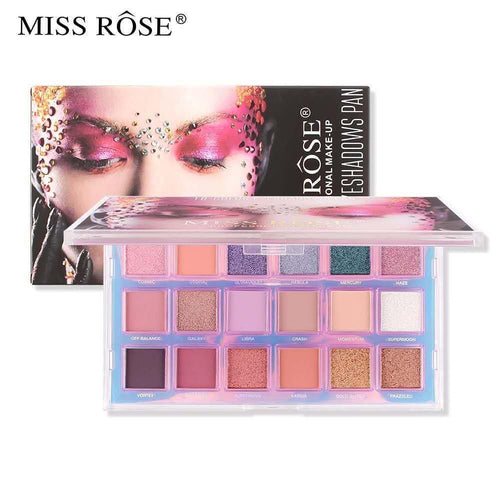 Miss Rose Mercury Eyeshadow Palette