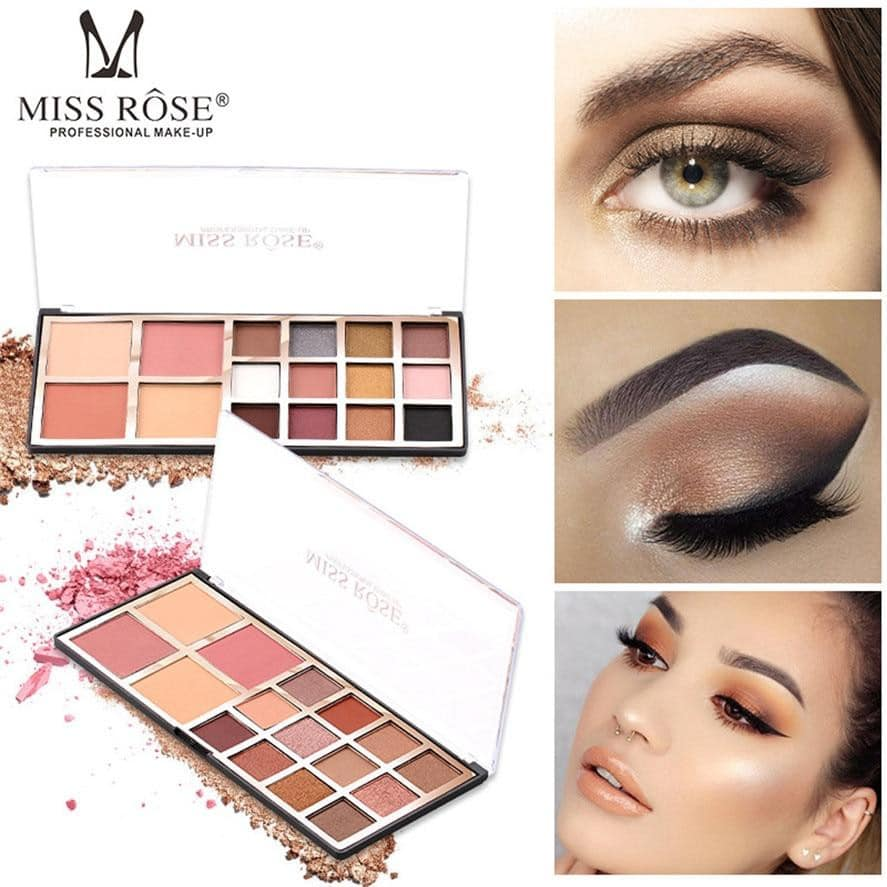 MISS ROSE Eyeshadow and blush Palette