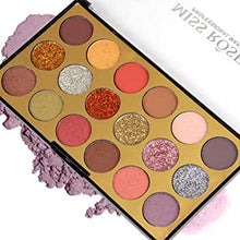 Load image into Gallery viewer, Miss Rose 18 Color Matte Shimmer Eyeshadow Palette